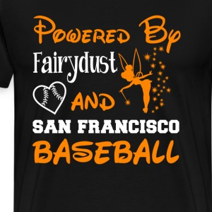 San Francisco baseball - Powered by fairydust - Men's Premium T-Shirt