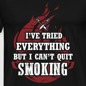 Sportscar - I've tried everything but I can't quit - Men's Premium T-Shirt