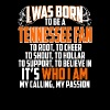Born to be a Tennessee fan - My calling my passion - Men's Premium T-Shirt