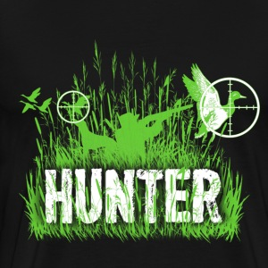 Duck hunting - Targeting - Hunt - Men's Premium T-Shirt