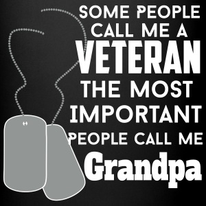 happy veteran grandpa Mugs & Drinkware - Full Color Mug