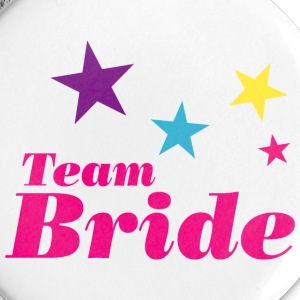 Bride team Buttons - Small Buttons