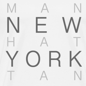 NEW YORK MANHATTAN TSHIRT - Men's Premium T-Shirt