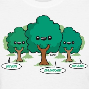 Save the Planet Trees T-Shirts - Women's T-Shirt