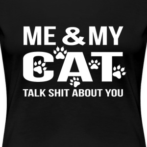 Cat lover - Me  - Women's Premium T-Shirt