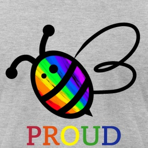 Bee Proud - Men's T-Shirt by American Apparel