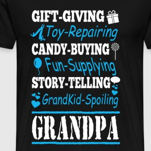 Grandpa - Gift - giving toy - repairing candy - Men's Premium T-Shirt