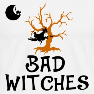 bad witches,Halloween,witch - Men's Premium T-Shirt
