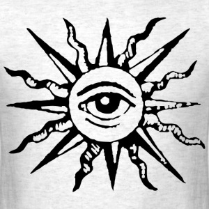 sun eye - Men's T-Shirt