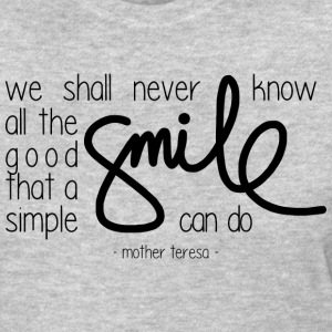 A simple smile T-Shirts - Women's T-Shirt