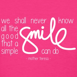 A simple smile (dark) T-Shirts - Women's T-Shirt