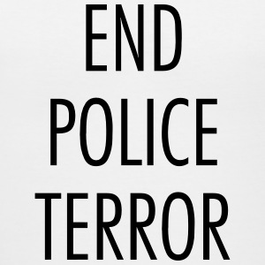 End police terror T-Shirts - Women's V-Neck T-Shirt