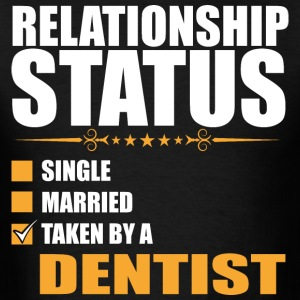 Relationship Status Single Married Taken By A Dent - Men's T-Shirt