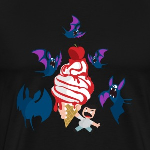 bat pipistrello icream - Men's Premium T-Shirt