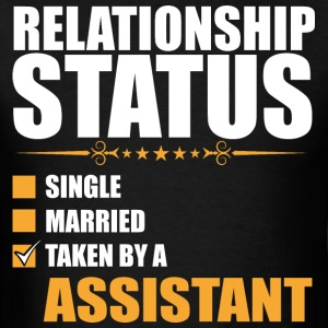 Relationship Status Single Married Taken By A Assi - Men's T-Shirt