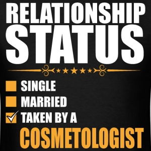 Relationship Status Single Married Taken By A Cosm - Men's T-Shirt