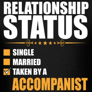 Relationship Status Single Married Taken By A Acco - Men's T-Shirt