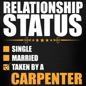 Relationship Status Single Married Taken By A Carp - Men's T-Shirt