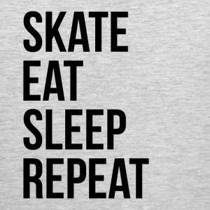 SKATE EAT SLEEP REPEAT Sportswear - Men's Premium Tank