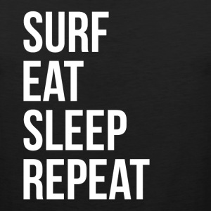 SURF EAT SLEEP REPEAT Sportswear - Men's Premium Tank