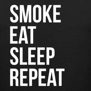 SMOKE EAT SLEEP REPEAT Sportswear - Men's Premium Tank