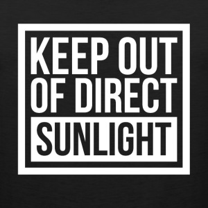 KEEP OUT OF DIRECT SUNLIGHT Sportswear - Men's Premium Tank