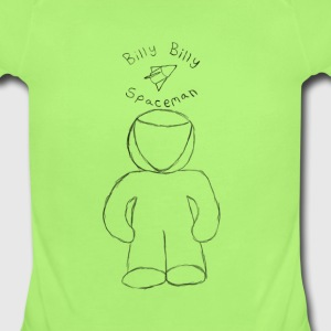 Baby Billy Billy Sketch - Short Sleeve Baby Bodysuit