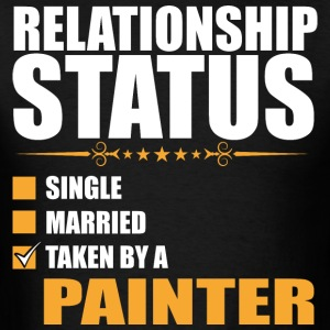 Relationship Status Single Married Painter T-Shirt - Men's T-Shirt
