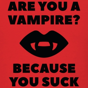 Are You A Vampire? - Men's T-Shirt