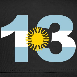 Argentinia Numbers, 13, Jersey Numbers Argentinia Sportswear - Trucker Cap