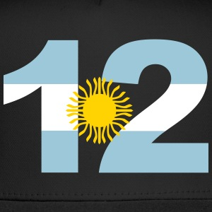 Argentinia Numbers, 12, Jersey Numbers Argentinia Sportswear - Trucker Cap