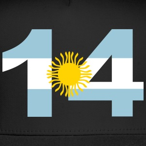 Argentinia Numbers, 14, Jersey Numbers Argentinia Sportswear - Trucker Cap