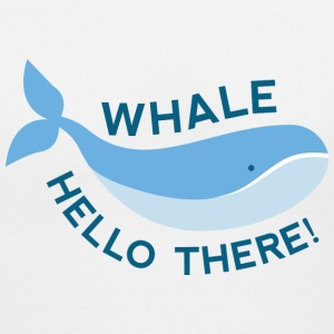 Whale Hello There! - Women's V-Neck T-Shirt