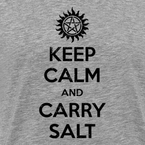 Keep Calm And Carry Salt - Men's Premium T-Shirt