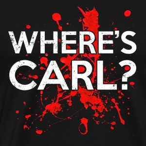 Where's Carl - Men's Premium T-Shirt