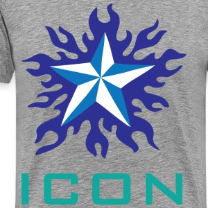 Icon grey t shirt - Men's Premium T-Shirt
