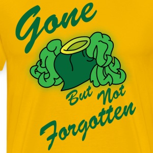 Gone but not Forgotten yellow t shirt - Men's Premium T-Shirt