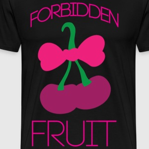 Forbidden fruit black t shirt - Men's Premium T-Shirt
