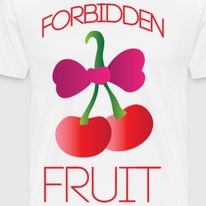 Forbidden fruit white t shirt - Men's Premium T-Shirt