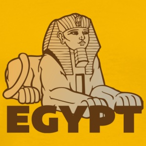 Egypt Sphinx yellow t shirt - Men's Premium T-Shirt