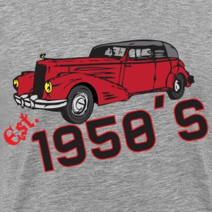 Est. 1950s gray t shirt - Men's Premium T-Shirt