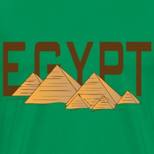 Egypt pyramids light blue t shirt - Men's Premium T-Shirt