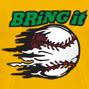 Bring It yellow t shirt - Men's Premium T-Shirt