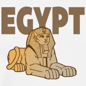 Egypt Sphinx white t shirt - Men's Premium T-Shirt