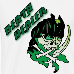 Death dealer white t shirt - Men's Premium T-Shirt