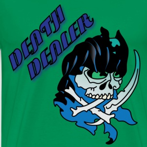 Death Dealer light blue t shirt - Men's Premium T-Shirt