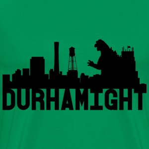 Men's Durhamight Skyline Godzilla Premium Tee (Bla - Men's Premium T-Shirt