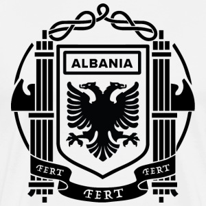 Albanian Flag - Men's Premium T-Shirt