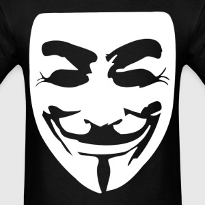 Guy Fawkes Mask - Men's T-Shirt