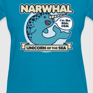 Unicorn Of The Sea - Women's T-Shirt